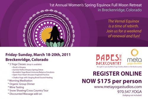 Womens Equinox Retreat