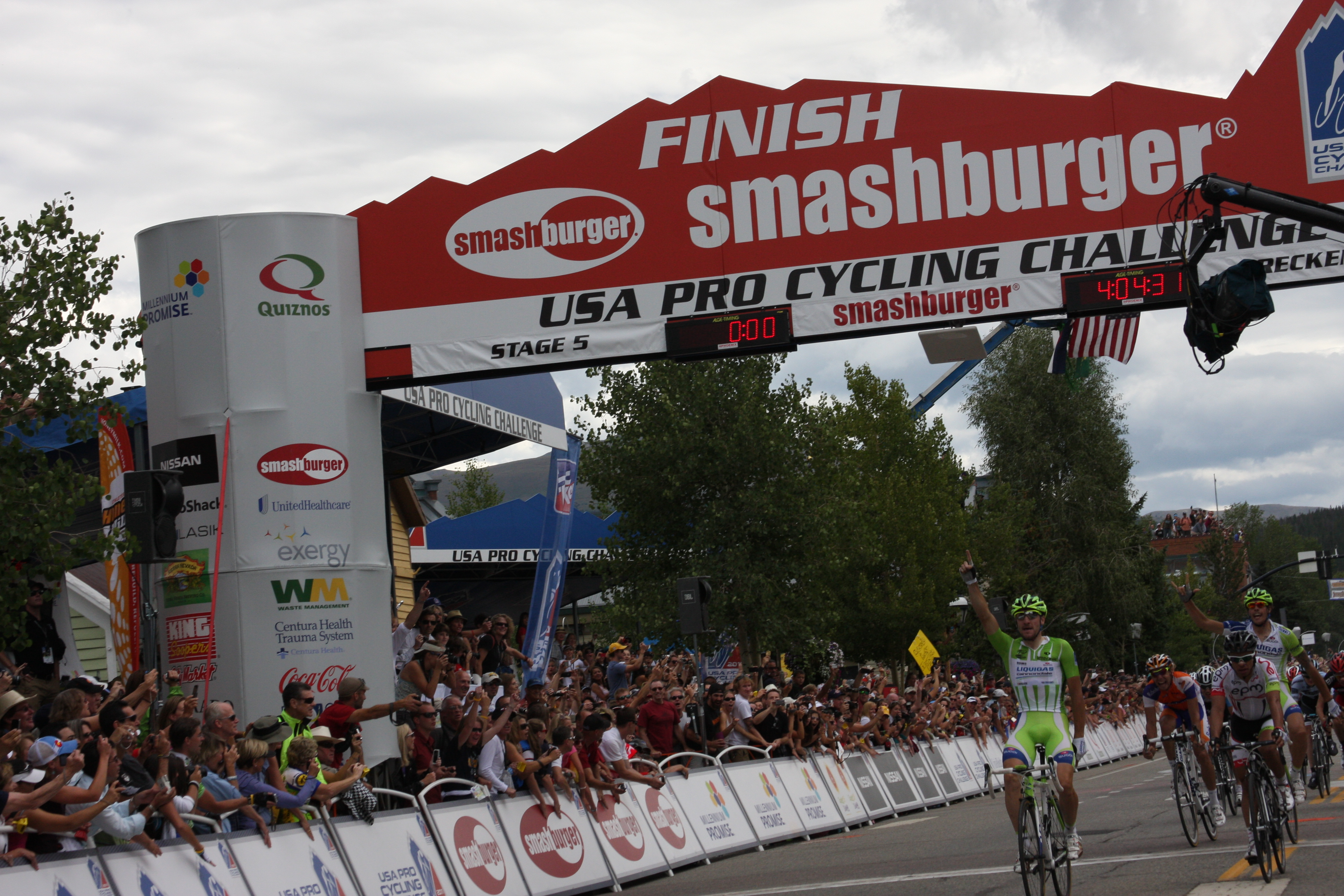 USA Pro Cycling Challenge Stage 5 Finish – Breckenridge