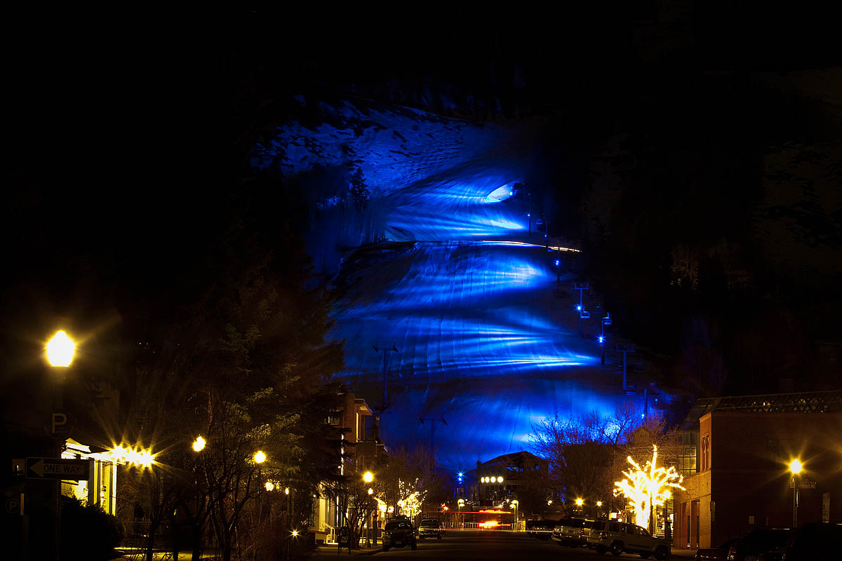 Aspen and MTNTownViews.com is Lighting up Blue! World Autism Awareness Day