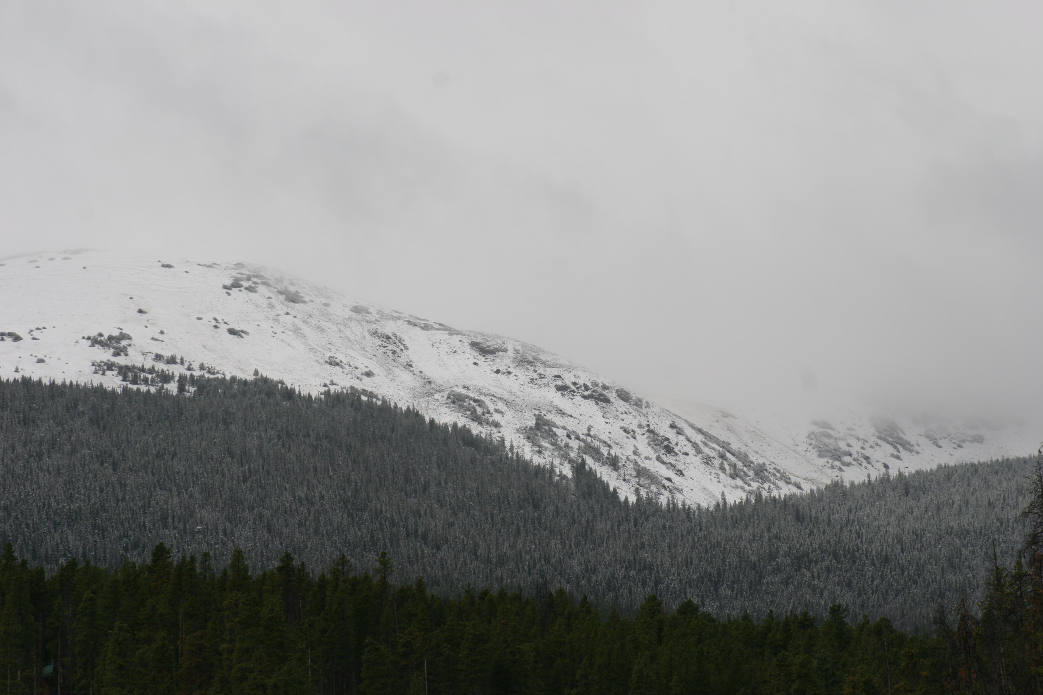 Snow in Colorado's Mtn Towns!