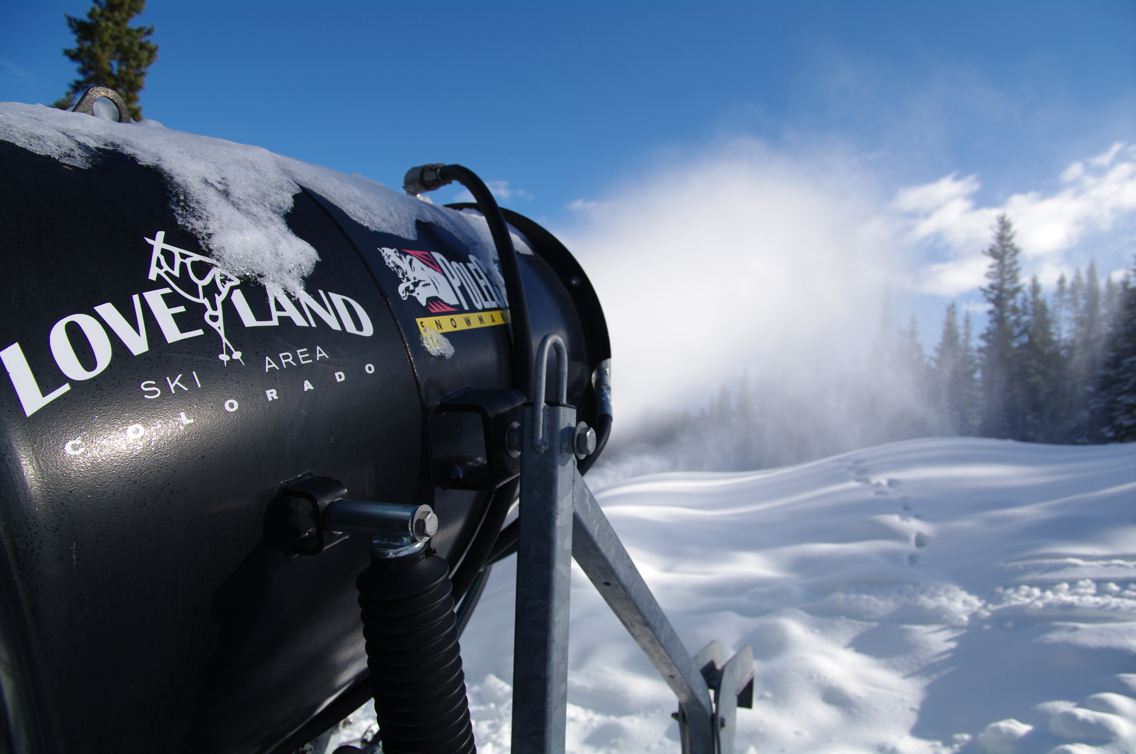 Loveland Ski Area Snow Guns