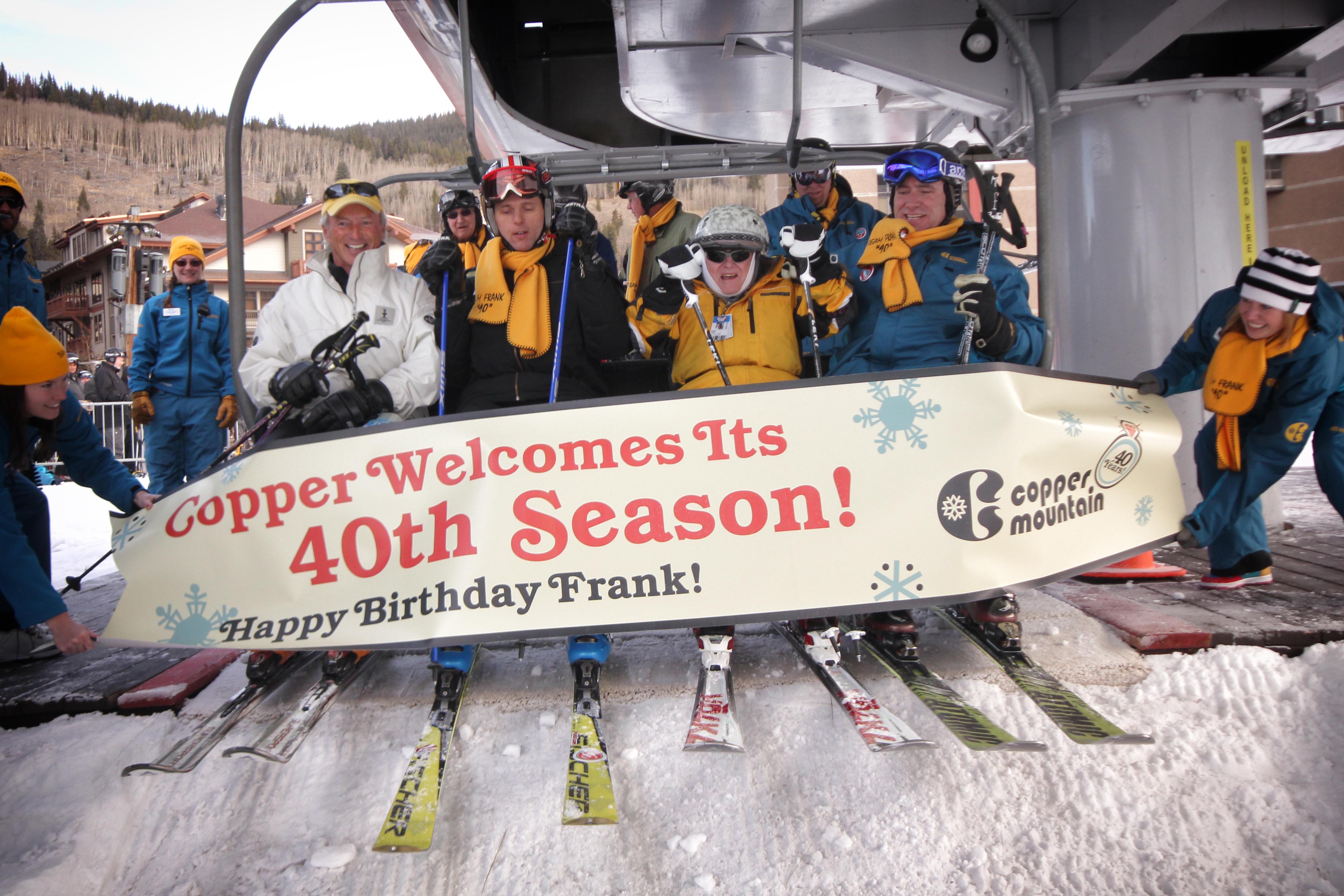 Copper Mountain Opens