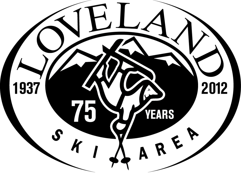 Loveland 75 Years logo