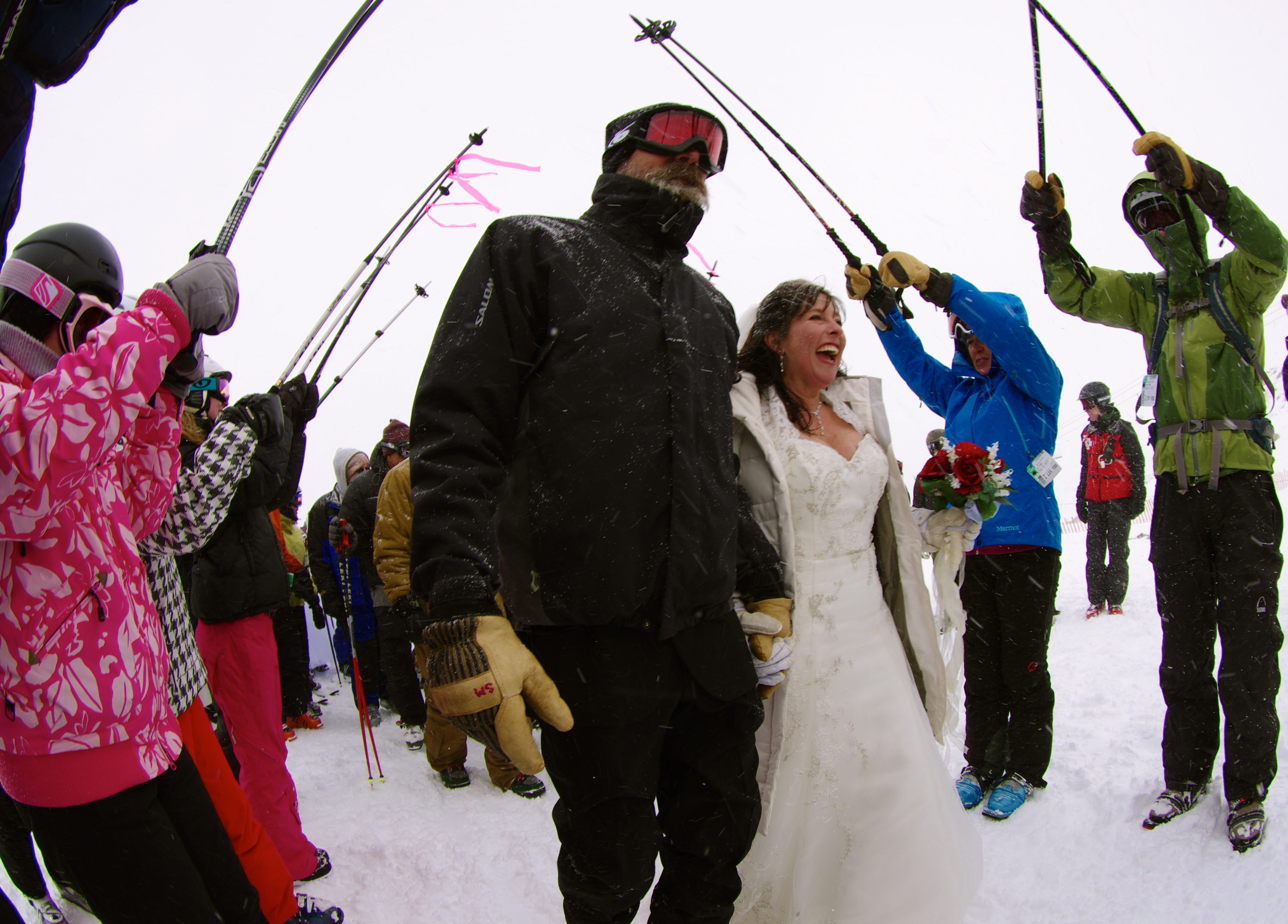 Loveland Ski Area on Valentines Day – Marry Me at 12,050