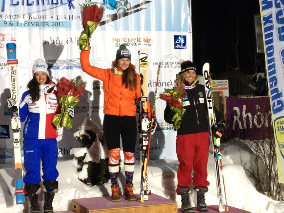 Madi McKinstry takes 3rd in the FIS World Junior Telemark Sprint