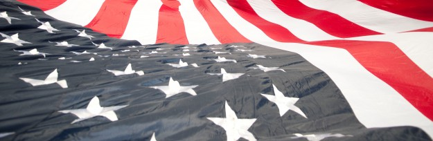 Breck July4 giant flag by Carl Scofield cropped