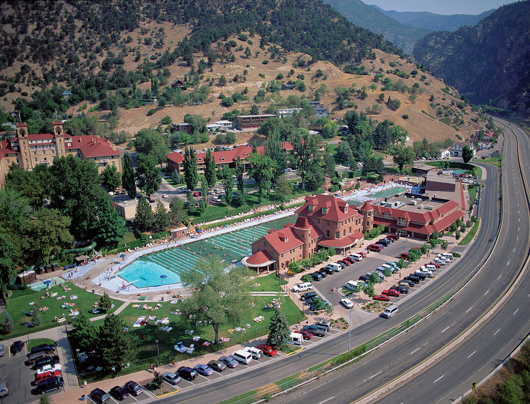 glenwood from air