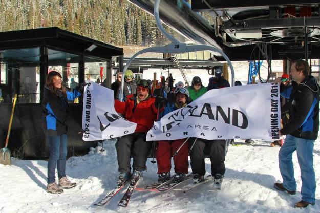 Loveland 2013 Opening day