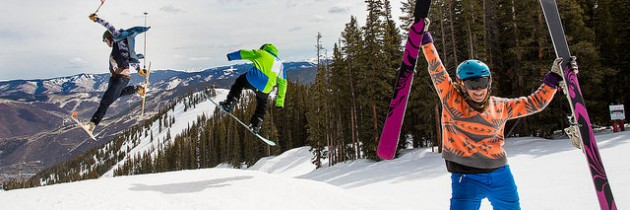 Aspen Opens Again for Skiing & Riding
