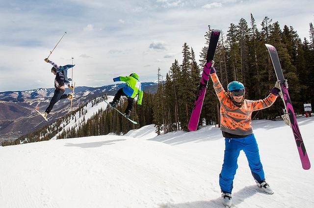 Aspen Spring ski