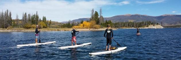 SUP Lake Dillon