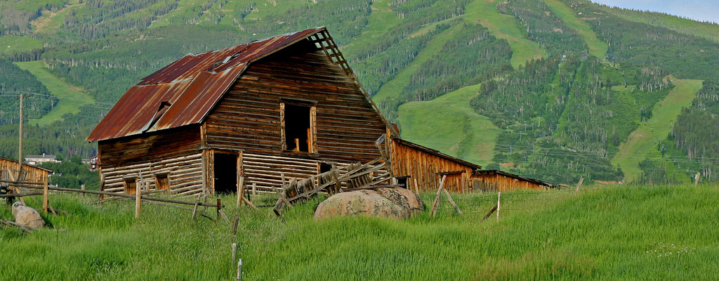 Steamboat Barn-Summer