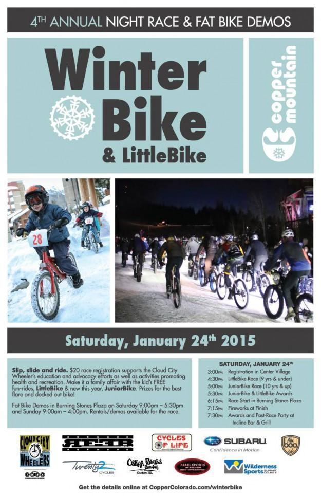 Winter Bike Poster