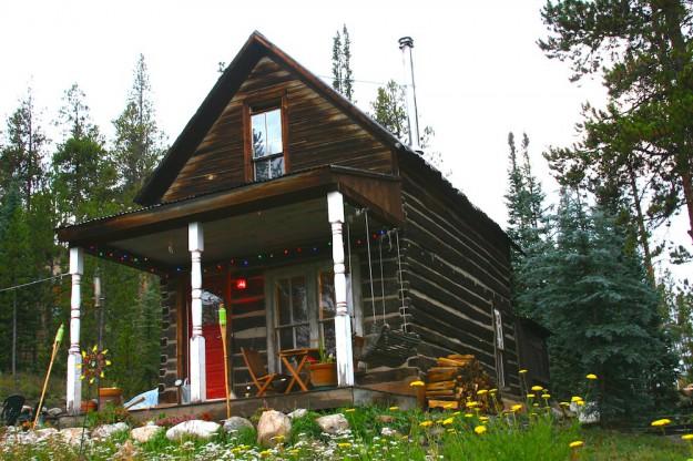 Log home web