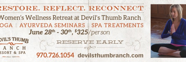 Devil's Thumb Ranch Women's Wellness Retreat