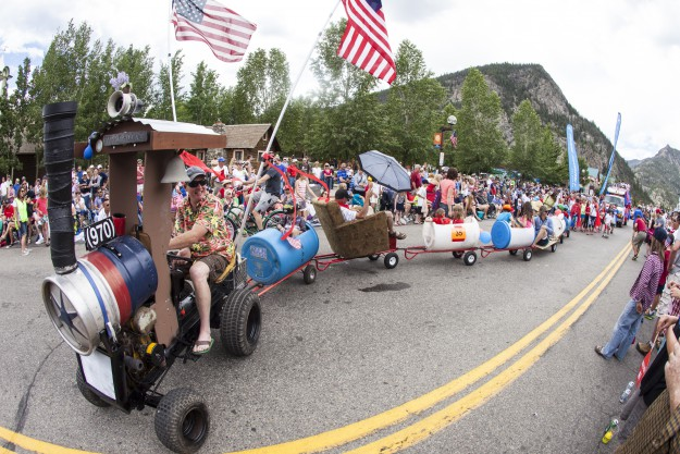 July Fourth Parade on Main Street, Frisco, Colorado