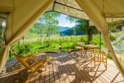 Mountain Tent deck
