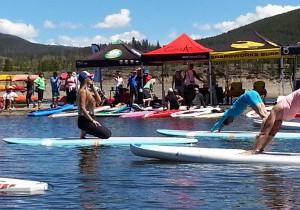 SUP Yoga with Meta Yoga Studios and Alpine Sports
