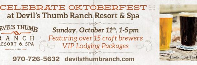 Oktoberfest at Devil's Thumb Ranch