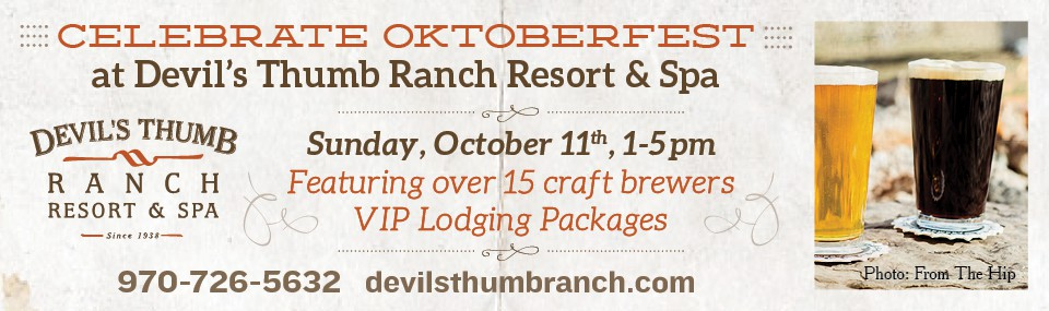 Oktoberfest at Devil's Thumb Ranch