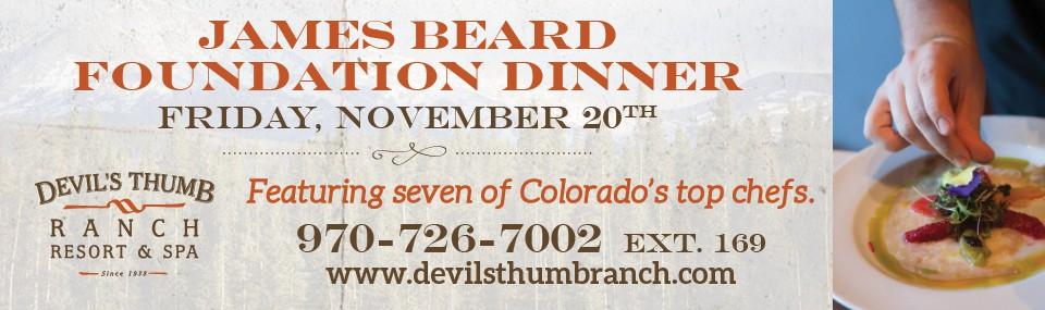 James Beard Foundation Dinner