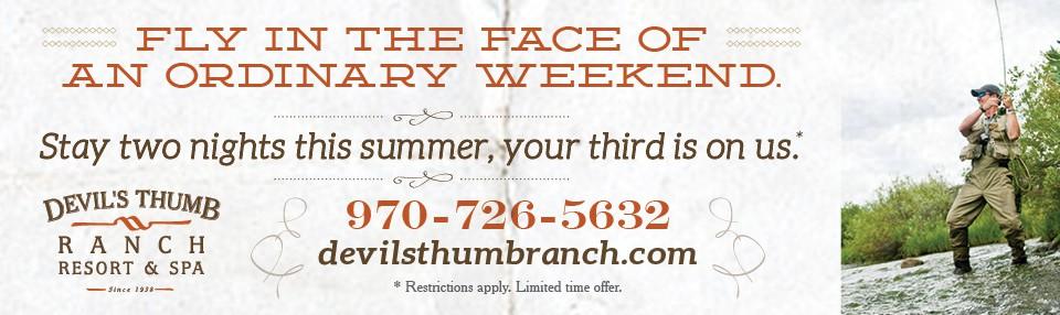 Devil's Thumb Ranch Summer Getaway