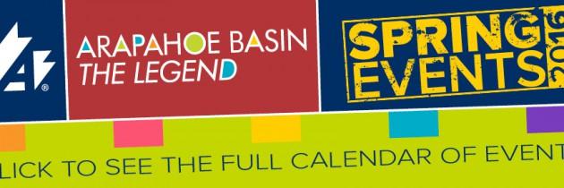 Arapahoe Basin Spring Events