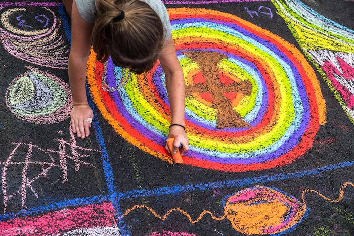 SAF-Chalk Art Contest