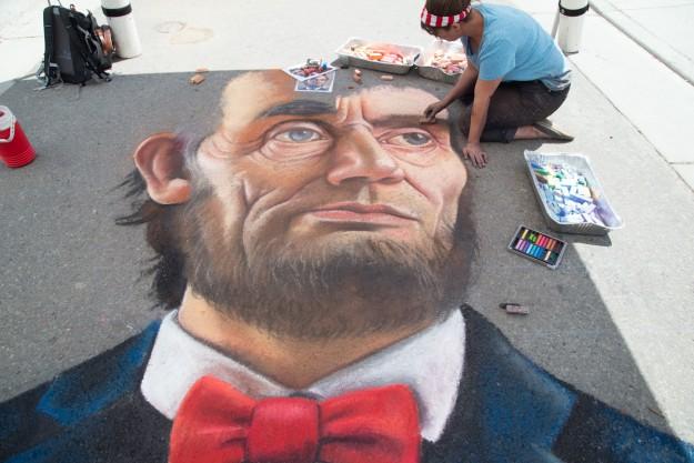 SAF-Chalk Artist Naomi