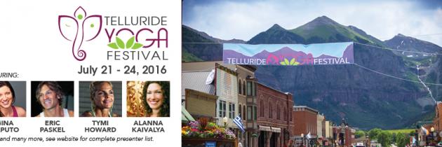 Telluride Yoga Festival 2016