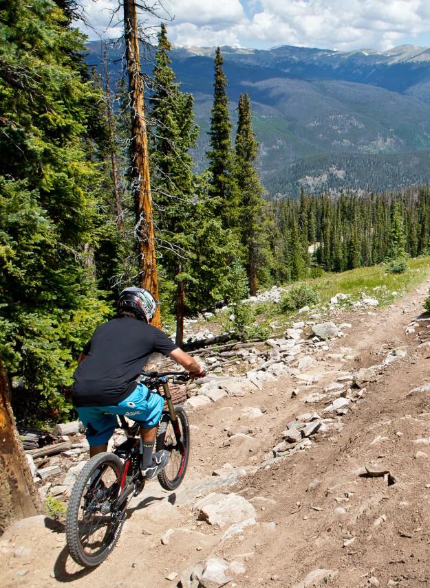 Biking In Keystone, CO.