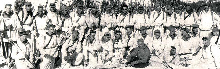 10th Mountain men