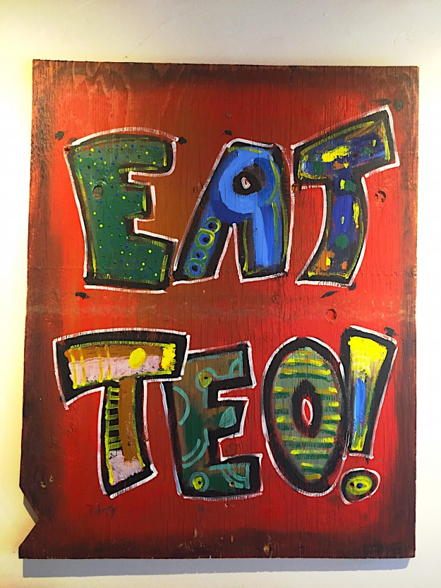 EAT- Eat Teo Painting