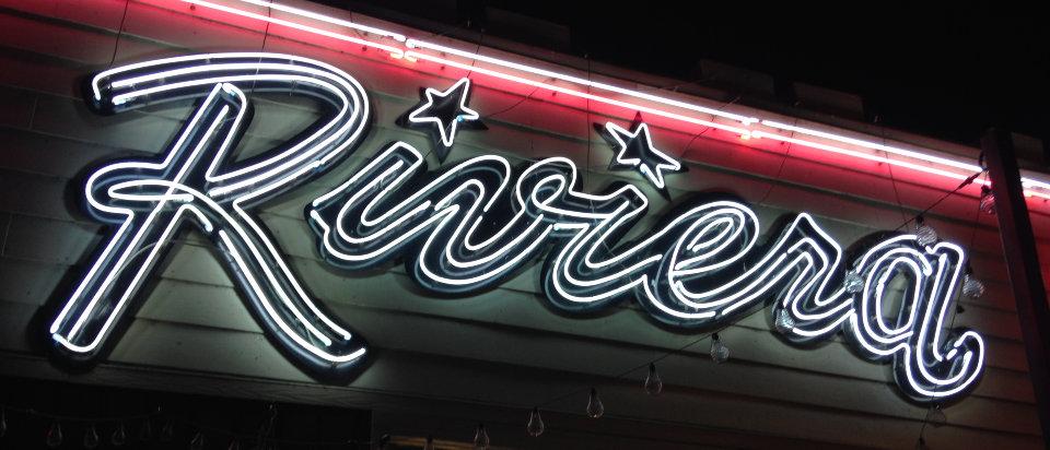 EAT – Riviera Sign