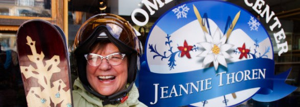 Jeannie Thoren, Champion of Women Skiers