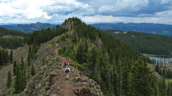 Grand Mesa hiking crags crest
