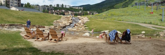 Natural Family Water Parks in Colorado Mountain Towns