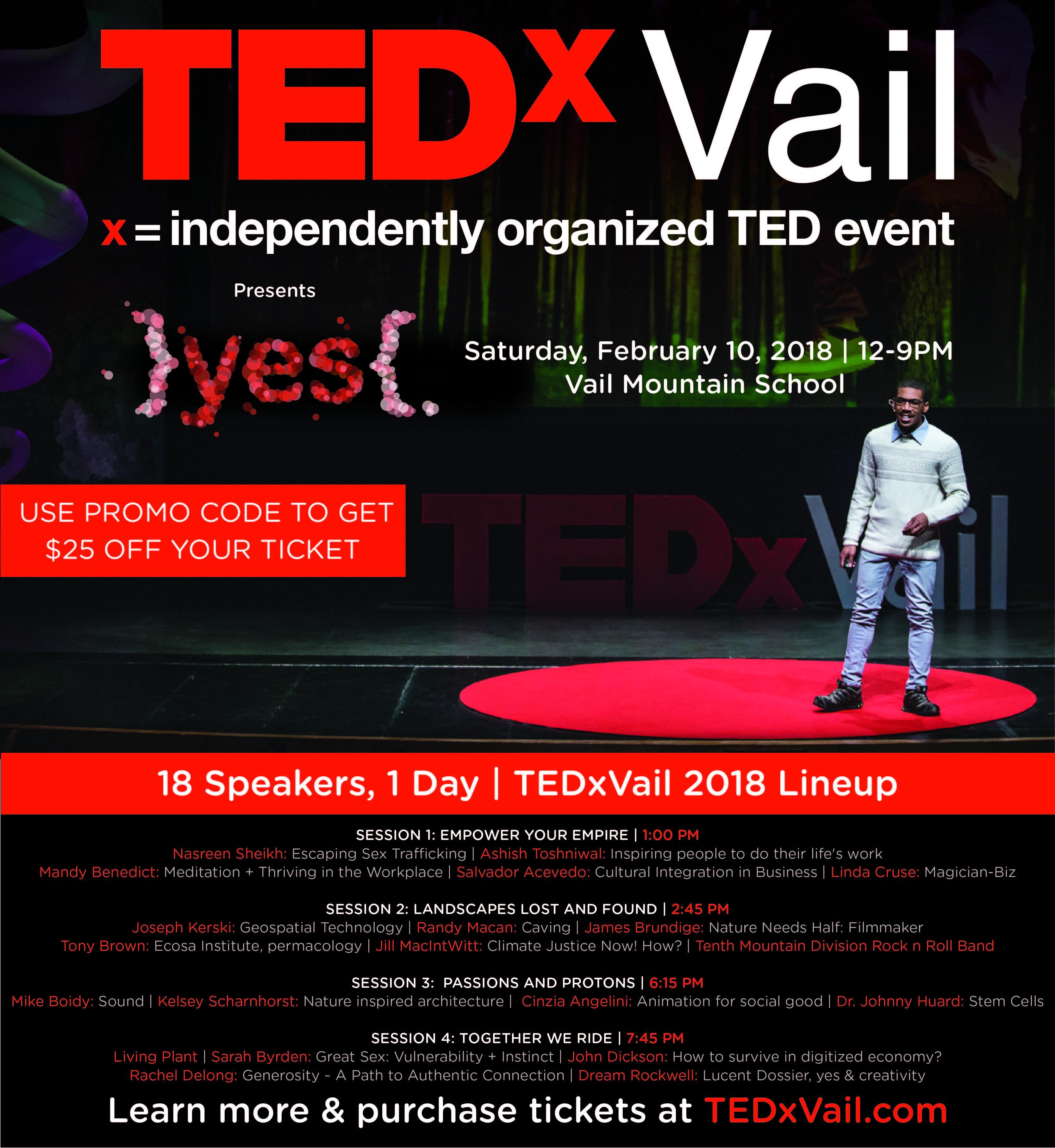 TEDxVail-2018-PartnerEmailer-Promo - Mountain Town Magazine