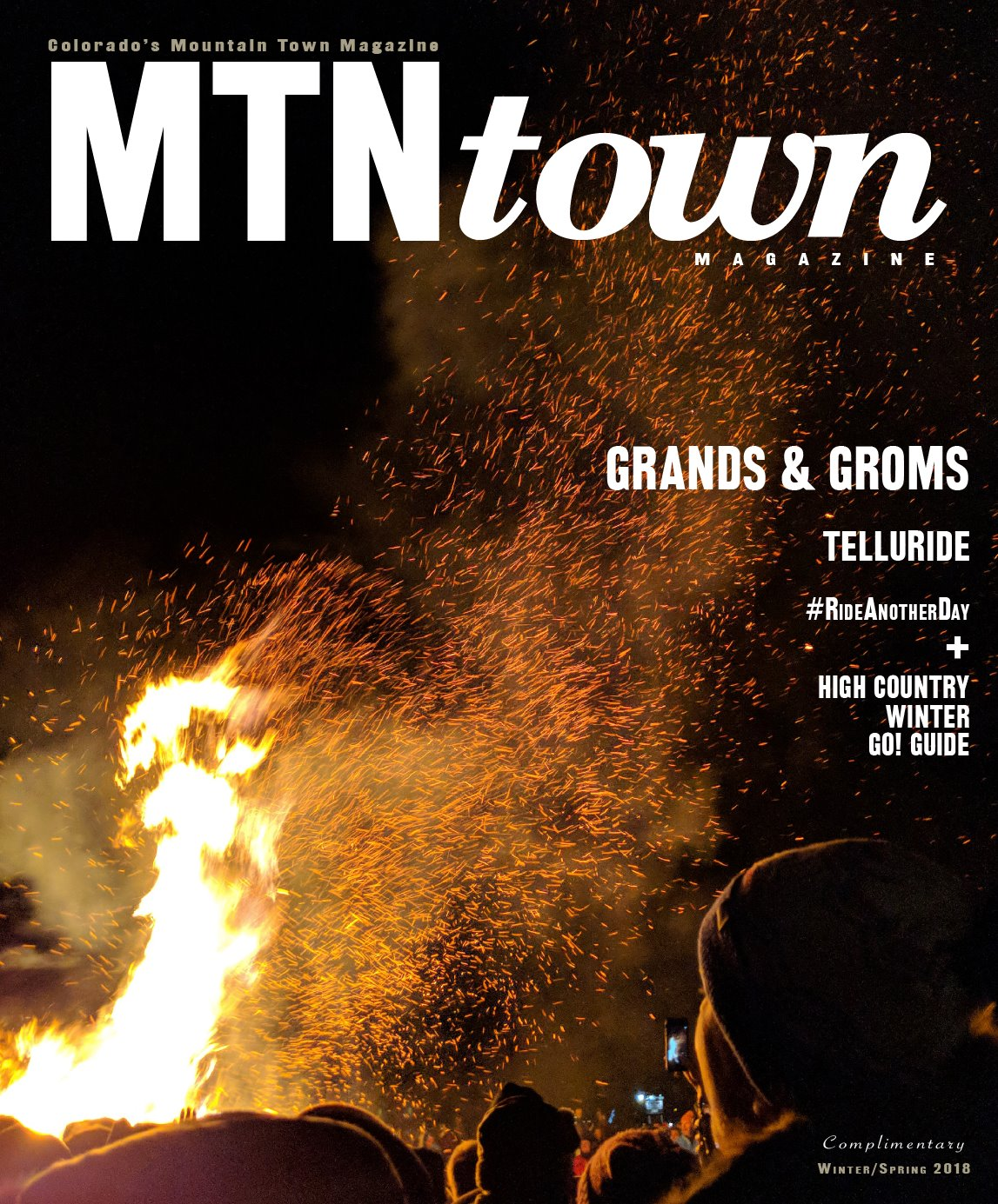 MTN Town Magazine WinterSpring 2018 Cover