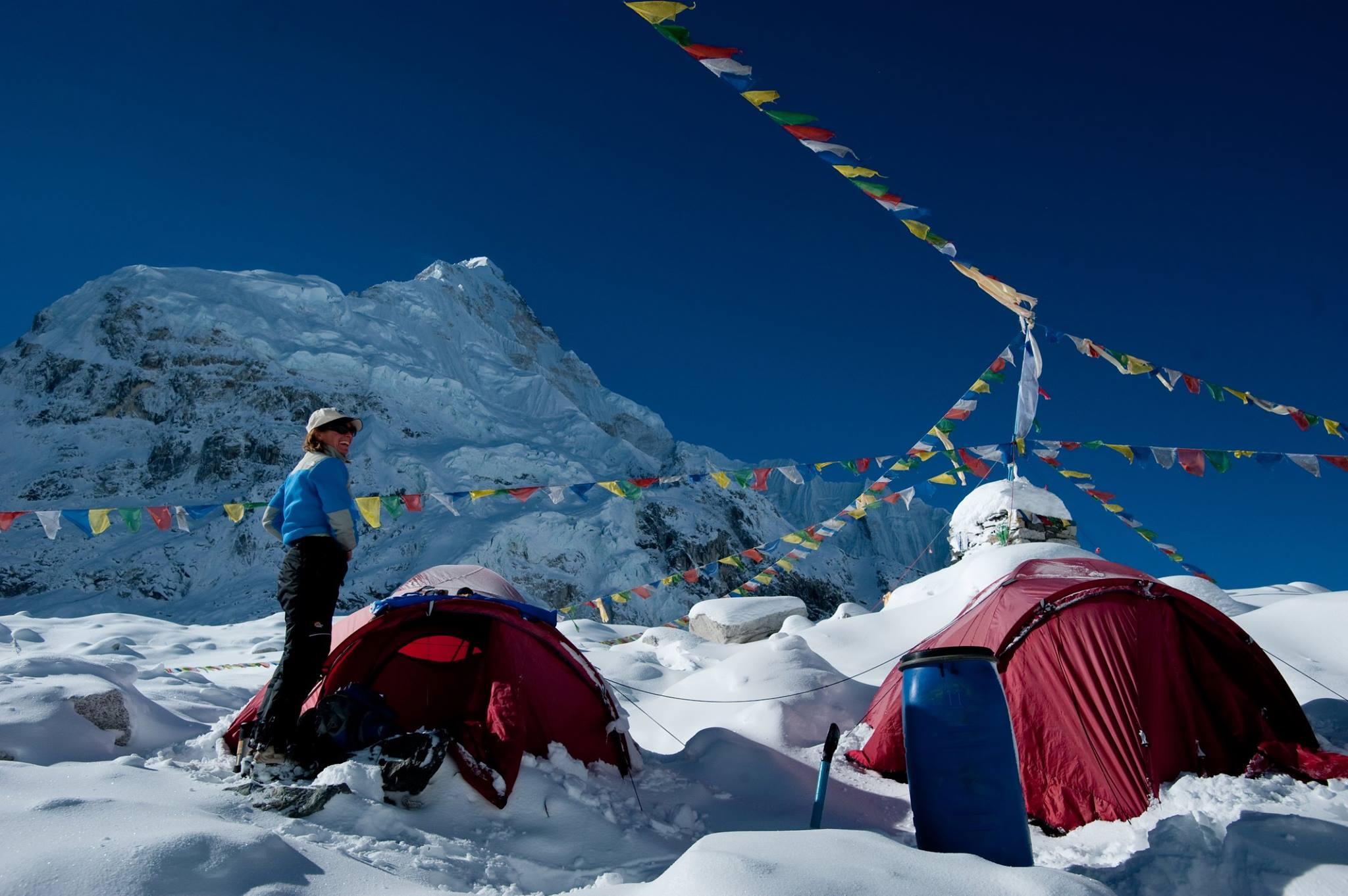 Ellen Miller 2009 Lhotse Expedition