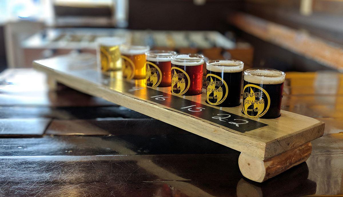 Bonfire Brewery Beer
