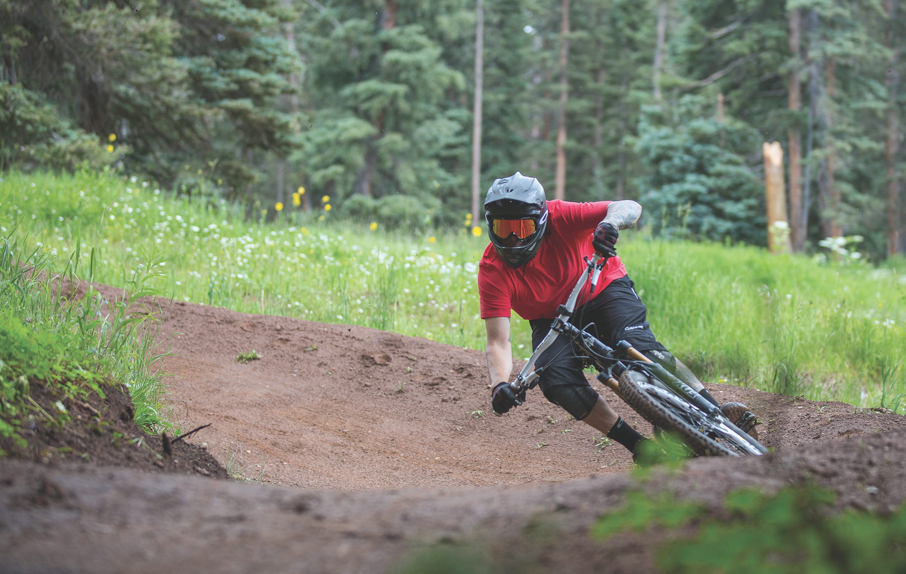 Downhill Biking at Purgatory