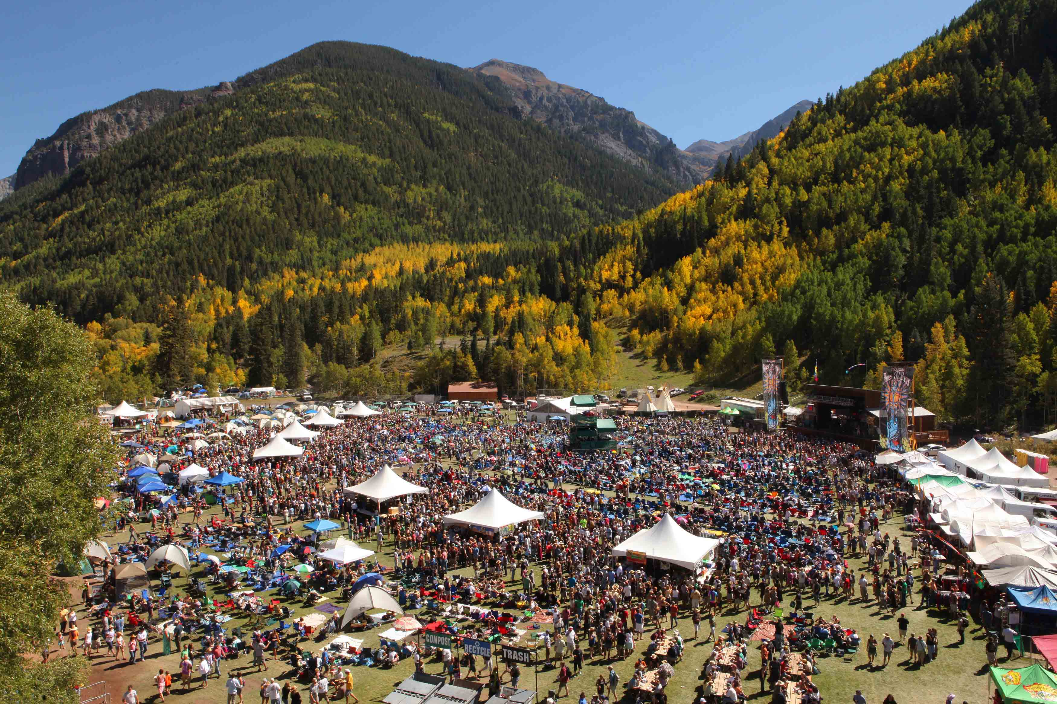 Telluride Blues & Brews Aerial