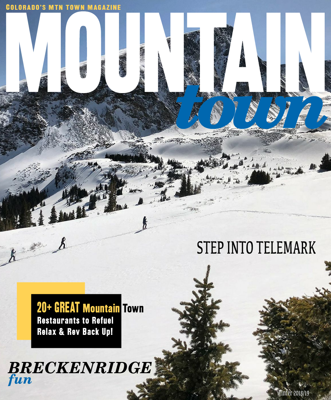 Mountain Town Magazine Winter 201819 Cover