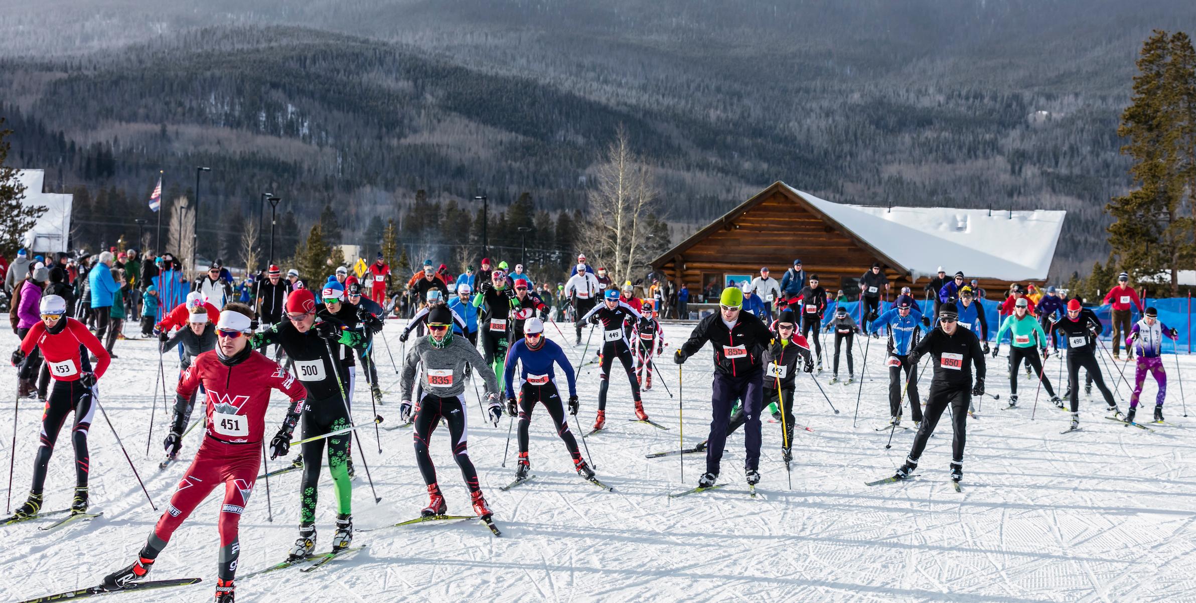 Frisco Gold Rush Cross Country Ski Race, Frisco, Colorado